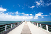 Shark rock pier of Port Elizabeth — Stock Photo