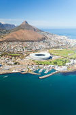 Aerial view of Cape Town — Stock Photo