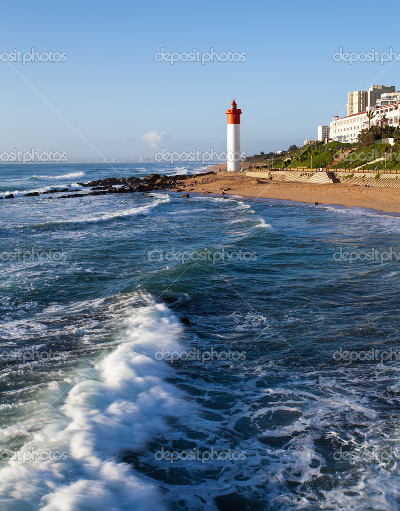 Lighthouse in Umhlanga, Durban, South Africa  Stock Photo #10469650