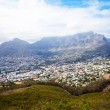 Cityscape of cape town - Stock Photo