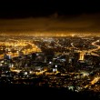 Night scene of Cape Town — Stock Photo
