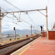 Railway station in South Africa — Stock Photo