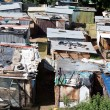 Informal settlement in south africa - Stok fotoğraf