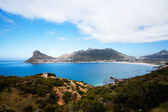 Overall view of hout bay, south africa — Stock Photo