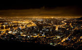 Night scene of Cape Town — Stok fotoğraf