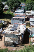 Informal settlement in South Africa — Stock Photo