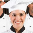 Professional chefs — Stock Photo