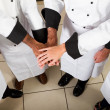 Chefs teamwork — Stock Photo #10674433
