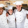 Stock Photo: Professional chefs