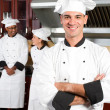 Professional chef portrait — Stock Photo