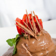 Chocolate dessert — Stock Photo