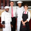 Restaurant staff — Foto de stock #10674577