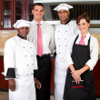 Restaurant staff — Stock Photo #10674577