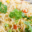 Fried rice with vegetables — Stock Photo #10674683