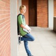 Male middle school student — Stock Photo