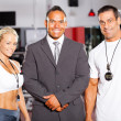 Gym staff — Stock Photo