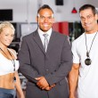 Gym staff - Stock Photo