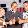 Stock Photo: Gym staff