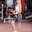 Stock Photo: Female personal trainer
