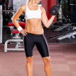 Young woman workout — Stock Photo #10678489
