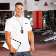 Stock Photo: Male personal trainer