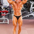 Professional bodybuilder — Stock Photo