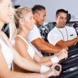Stockfoto: Personal trainer and fitness