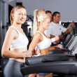 Royalty-Free Stock Photo: Fitness running on treadmill