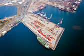 Durban harbour, South Africa — Stock Photo