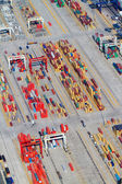 Containers stacking in Durban harbour, South Africa — Stock Photo