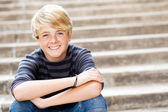 Cute teen boy — Foto de Stock