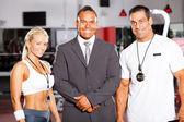 Gym staff — Stock Photo