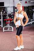 Fitness-trainer — Stockfoto