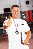 Okul spor antrenörü — Stok fotoğraf