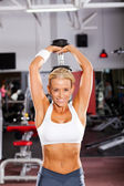 Fitness woman workout — Stock Photo