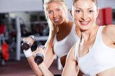 Twee fitness vrouwen — Stockfoto