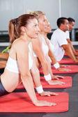 Rozciąganie fitness — Zdjęcie stockowe