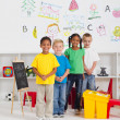 Preschool kids — Stock Photo #10683413