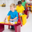 Preschool kids — Stock Photo