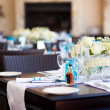 Wedding table setting — Stock Photo #10685847