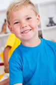 Happy preschool boy — Stock Photo