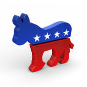 Democrat Donkey — Stock Photo