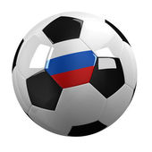 Russia Soccer Ball — Stock Photo