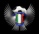 Bola de futebol de itália — Foto Stock