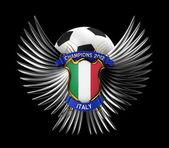 İtalya futbol topu — Stok fotoğraf