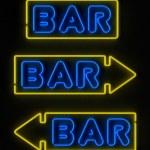 Neon Bar Sign — Stock Photo #9009635
