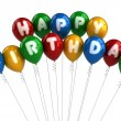 Happy Birthday Balloons — Stock Photo #9127026