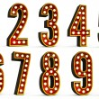 Numbers Set — Stock Photo #9753480