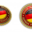 Made in Germany Seal — Stock Photo
