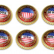 Mitt Romney Presidential Election 2012 Buttons — ストック写真